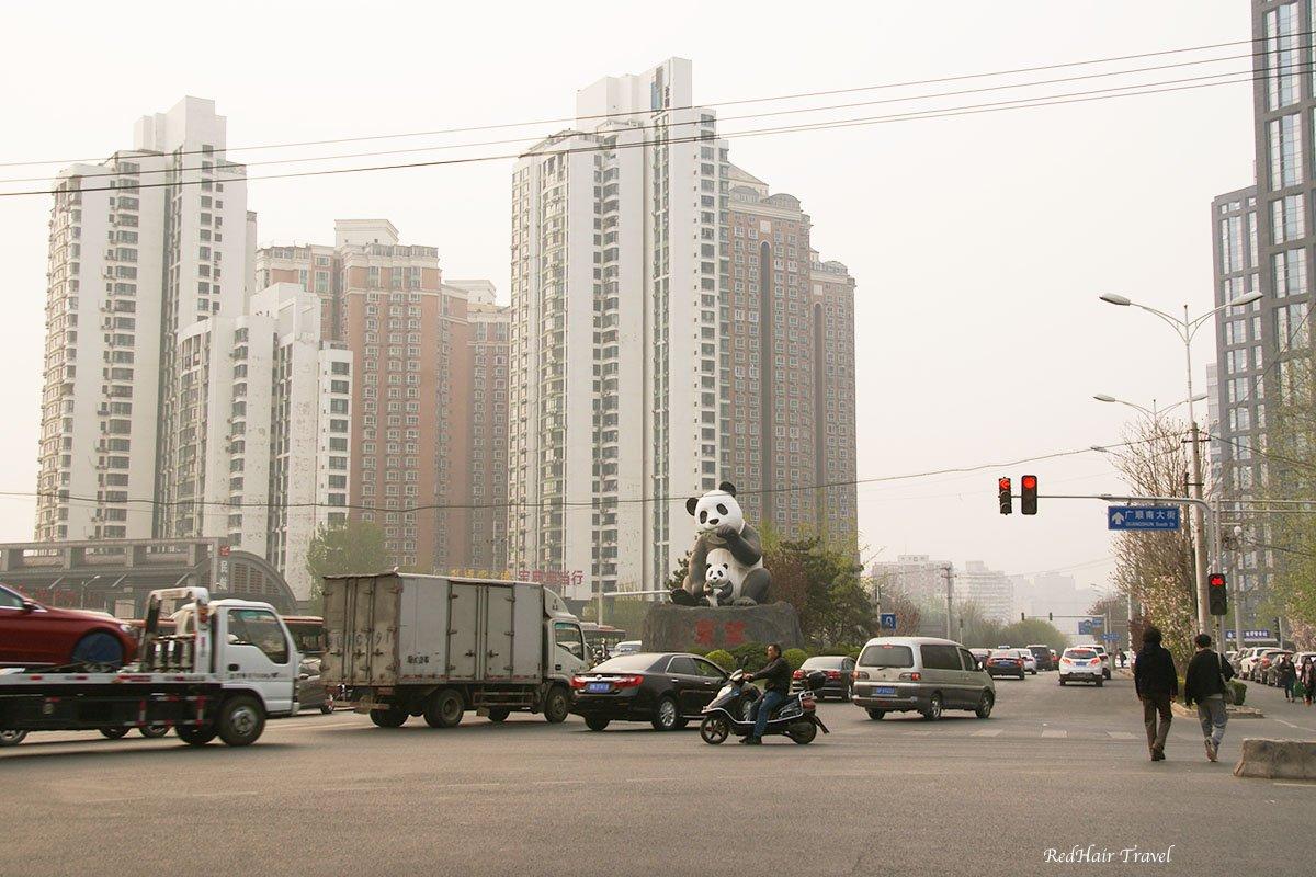 улица в Пекине