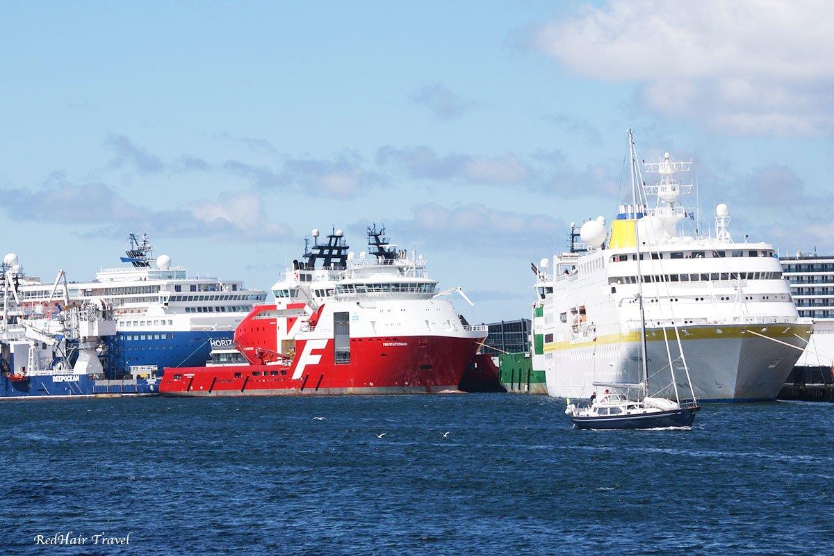 круизные лайнеры, Берген