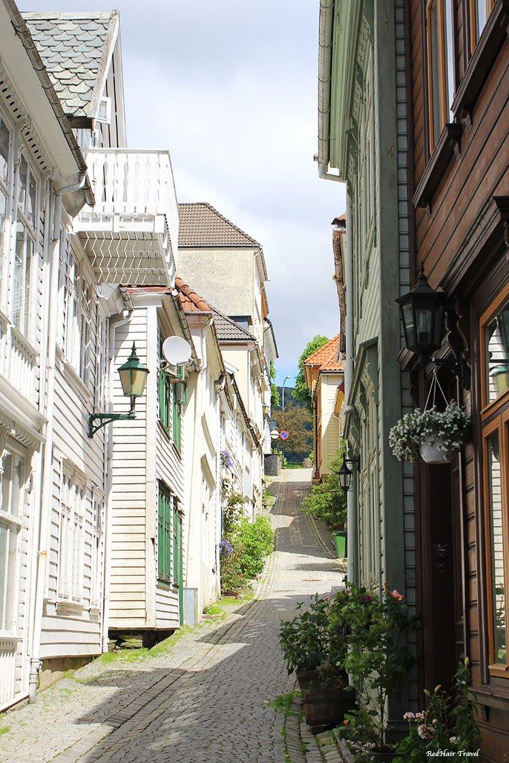 улицы Бергена