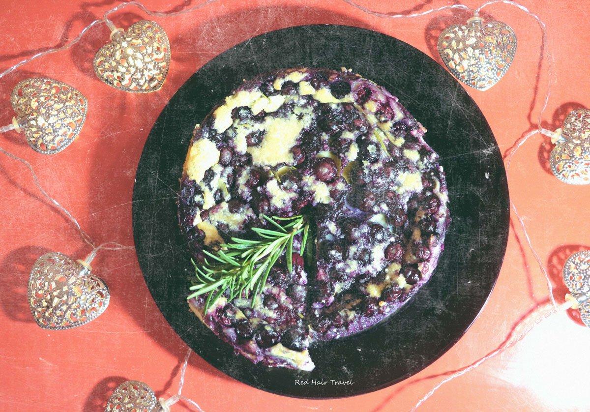 черничный пирог по рецепту викингов