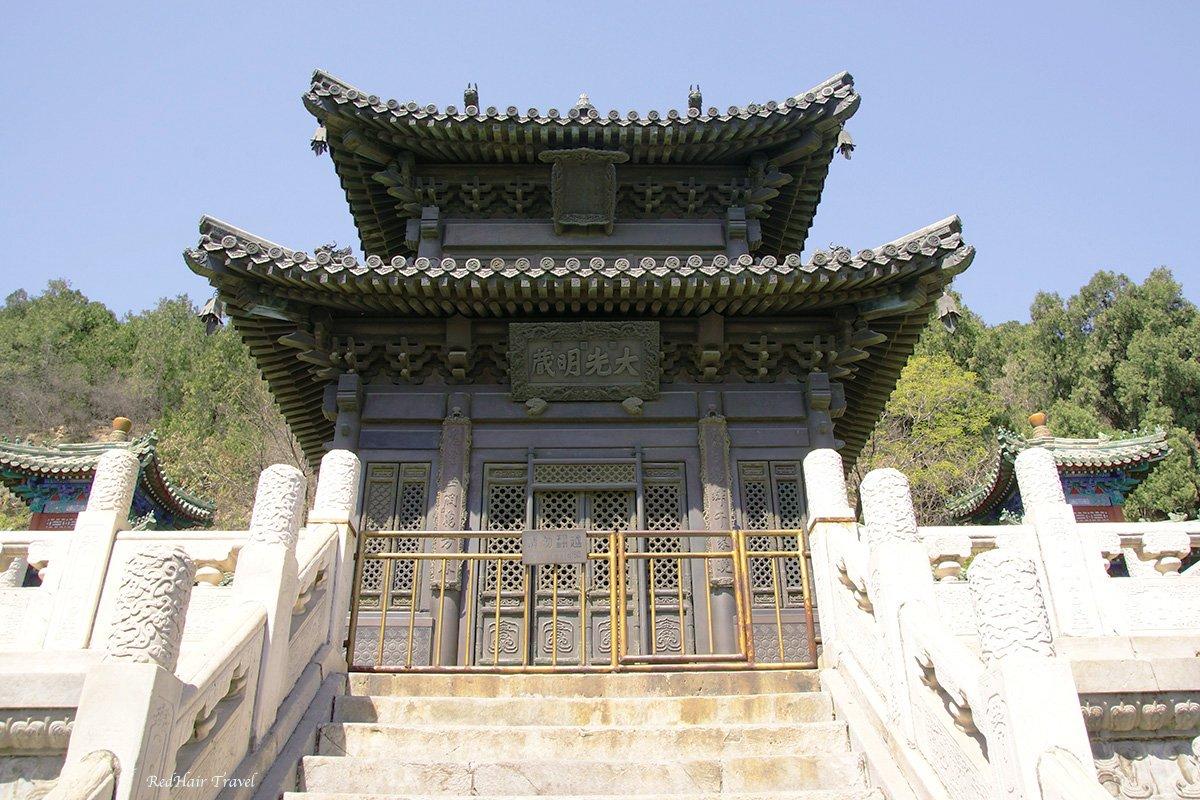 Бронзовый павильон Баоюнгэ