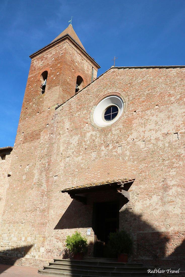Чертальдо, церковь, Италия