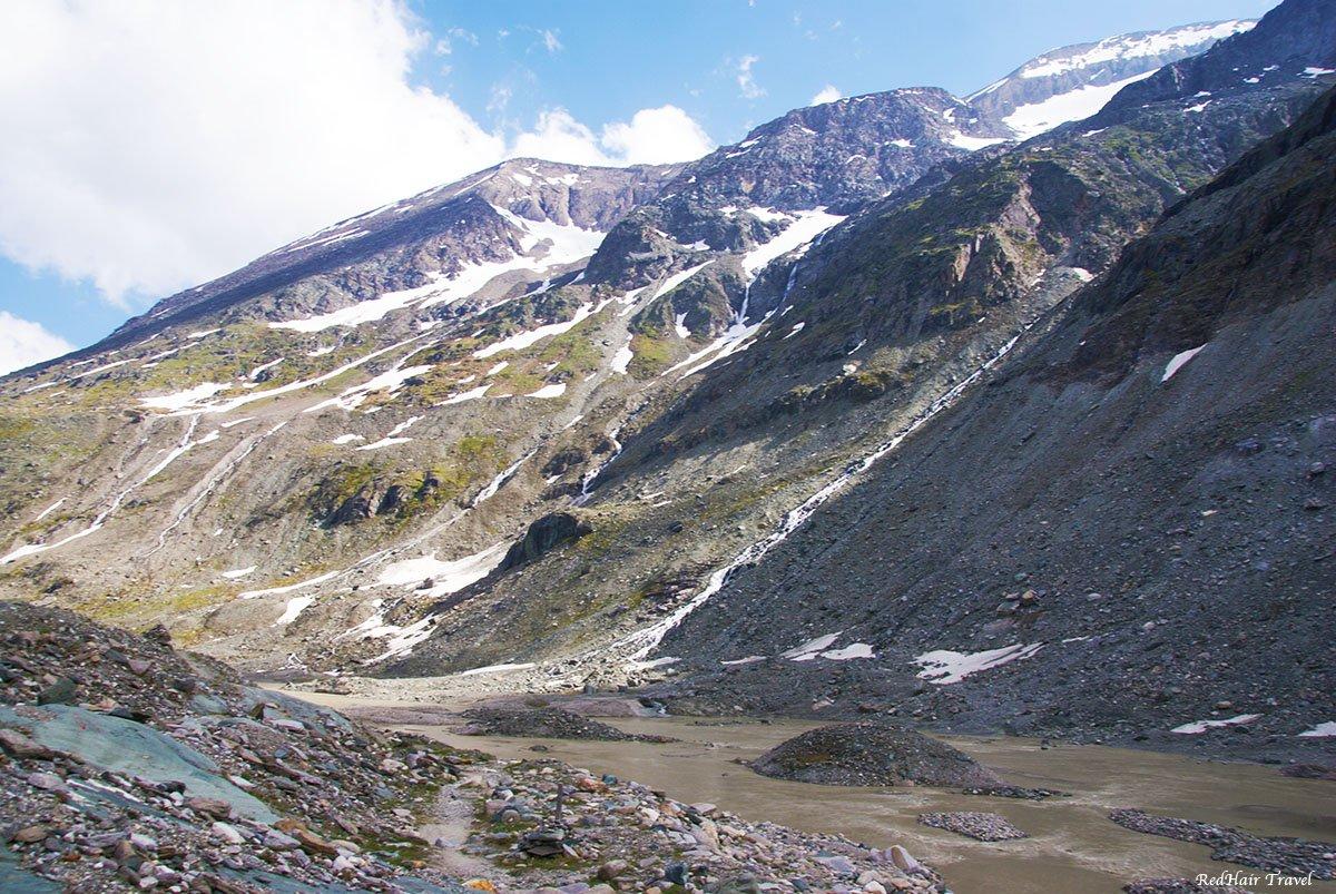 Гросглоккнер (Grossglockner), ледник