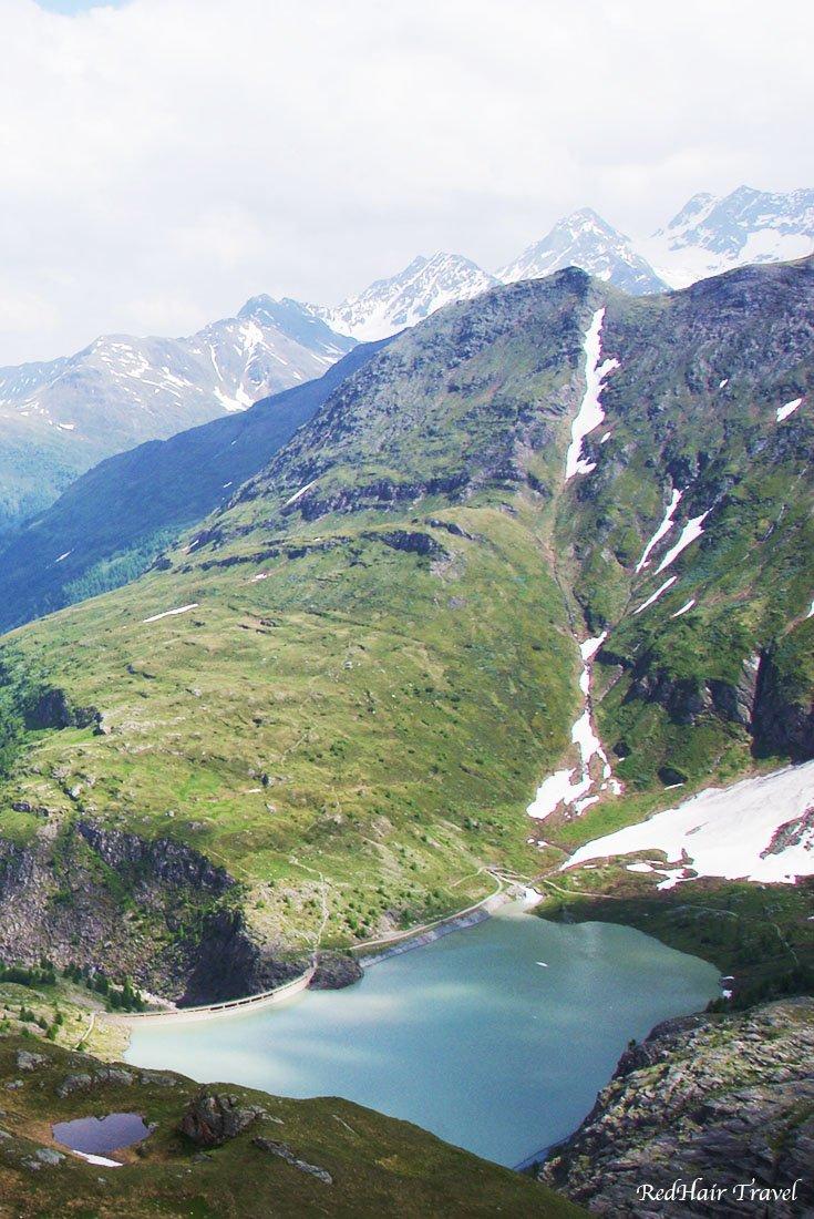 Гроссглокнер,озеро