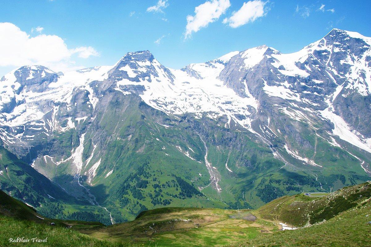 Гроссглокнер, альпийская дорога, Австрия