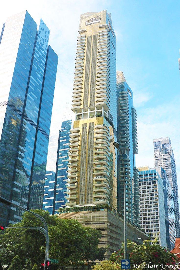 Сингапур Небоскребы
