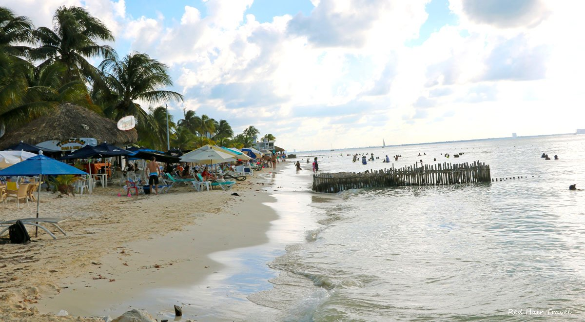 Северный пляж, Плайя Норте, Исла Мухерес