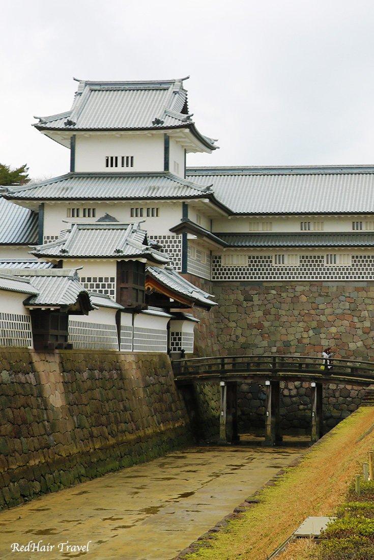 замок Канадзавы, Япония