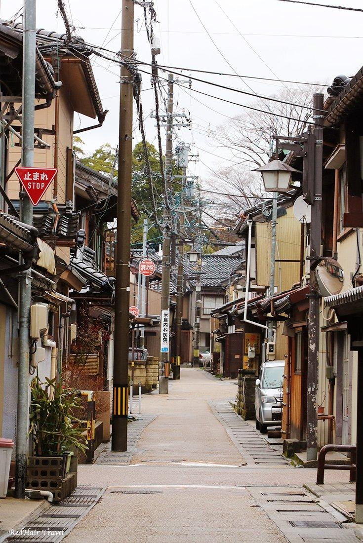 Чайный район, Каназава, Япония