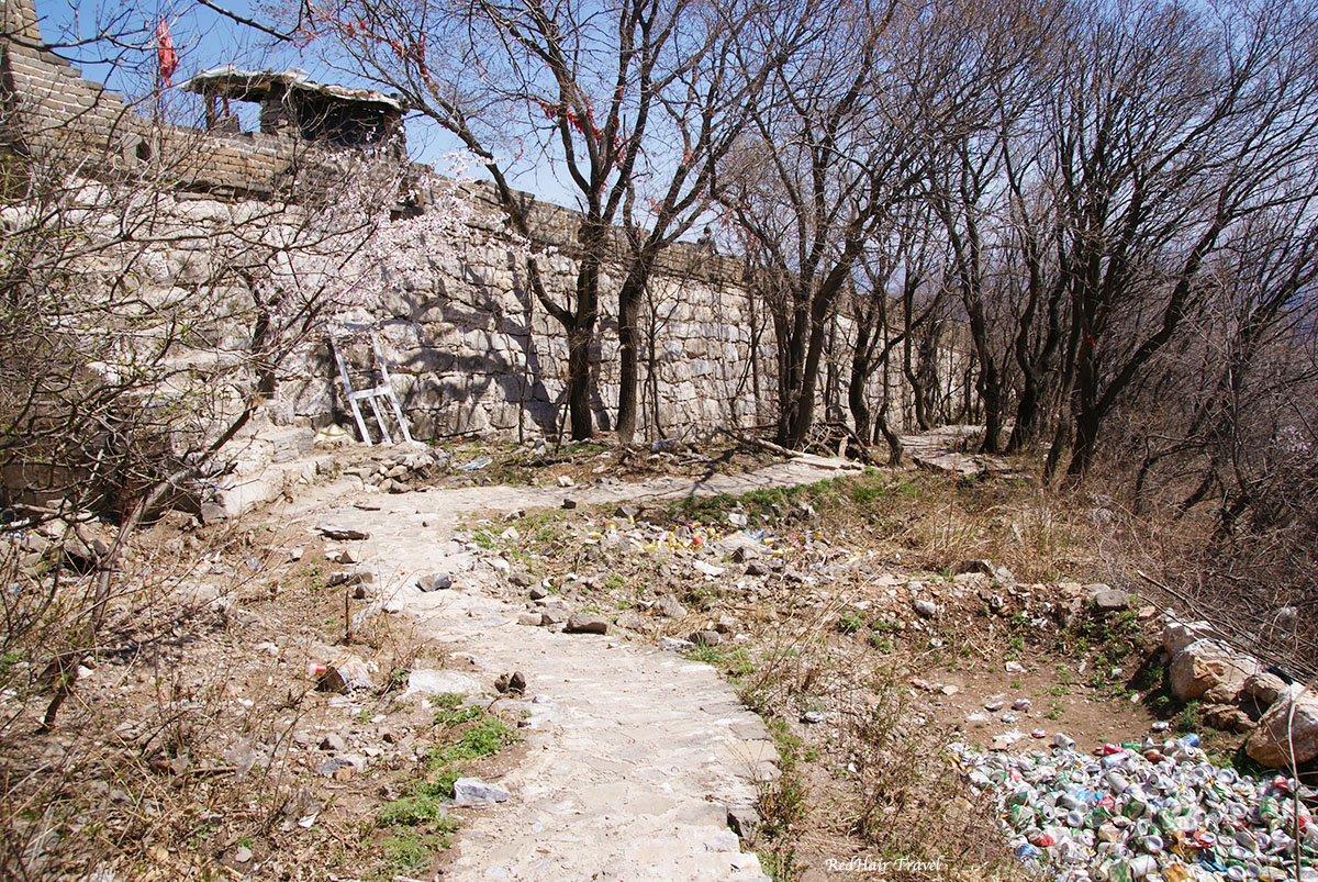 Великая Китайская Стена, участок Мутьяньюй, историческая неотреставрированная часть