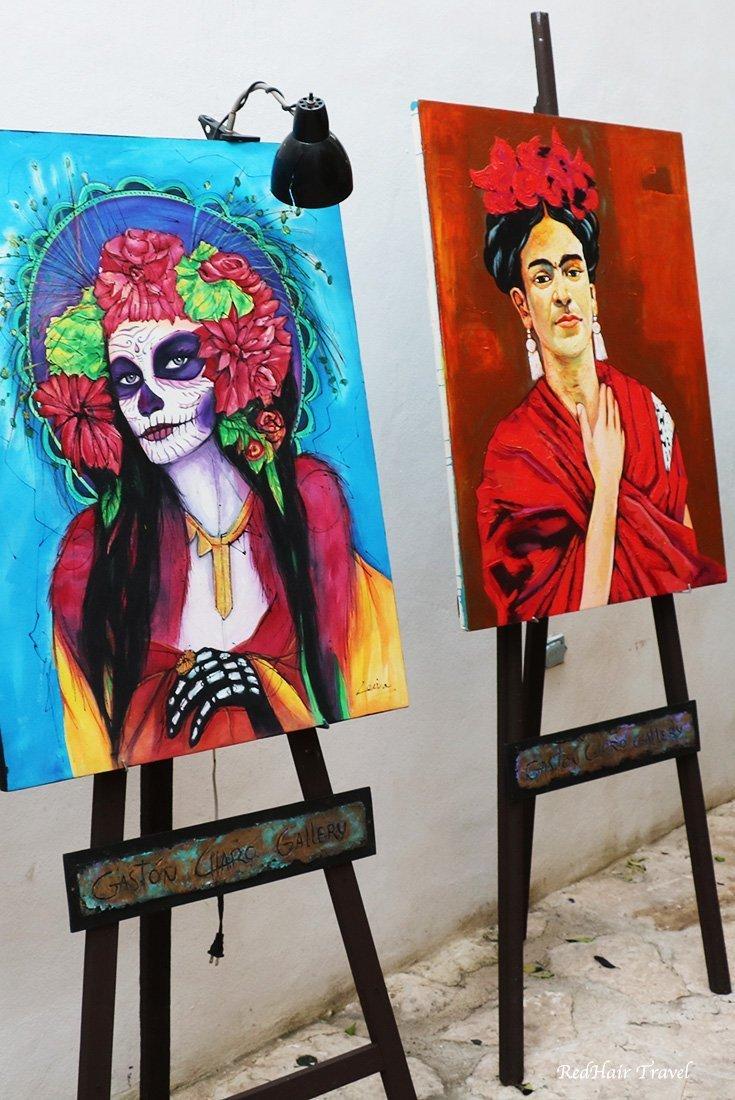 арт-галерея, Плайя-дель-Кармен, Мексика