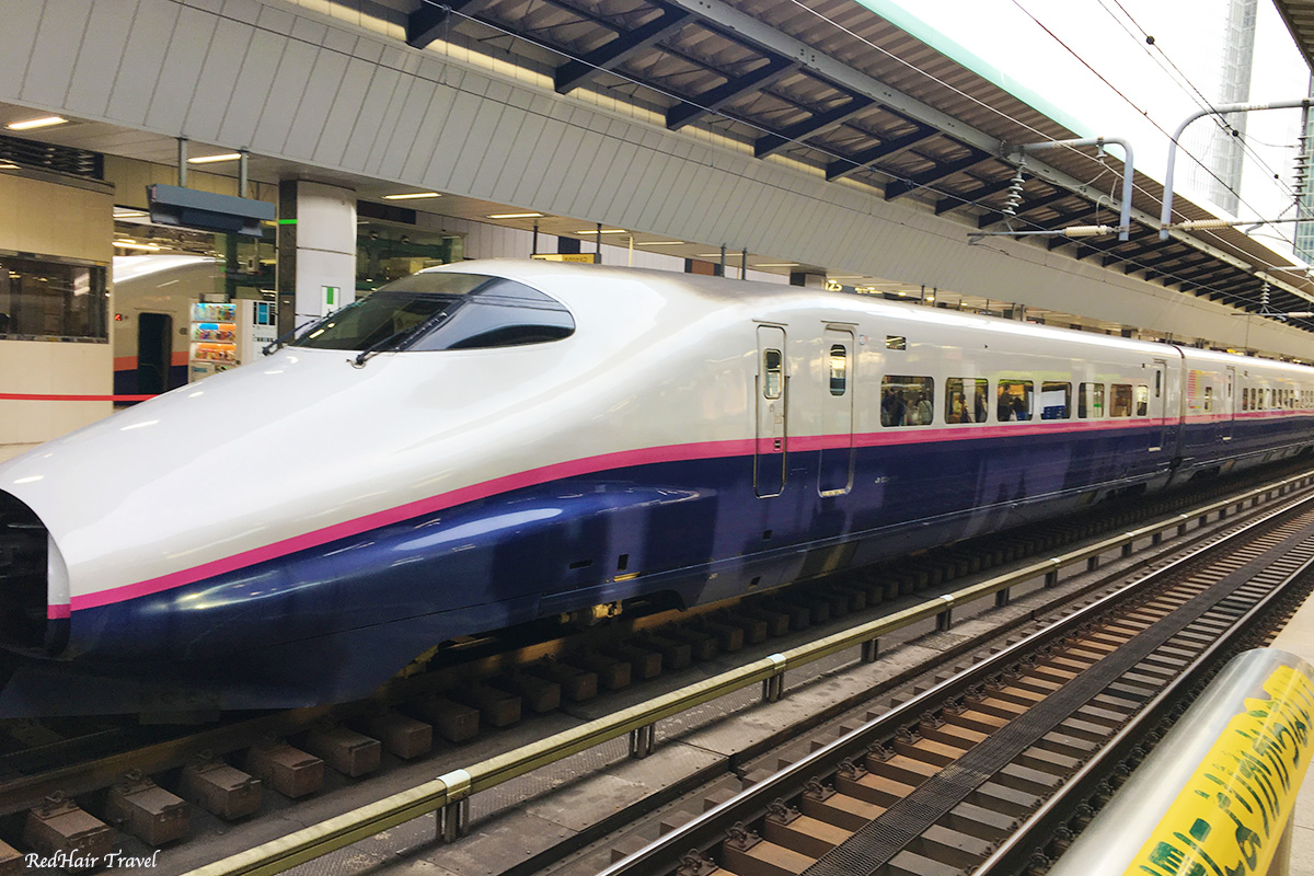шинкансен в Японии