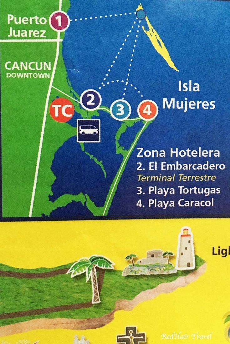 паром Канкун - Остров Женщин, как добраться
