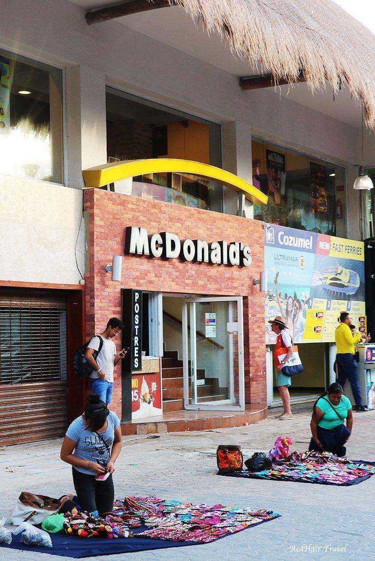 Макдональдс в Мексике