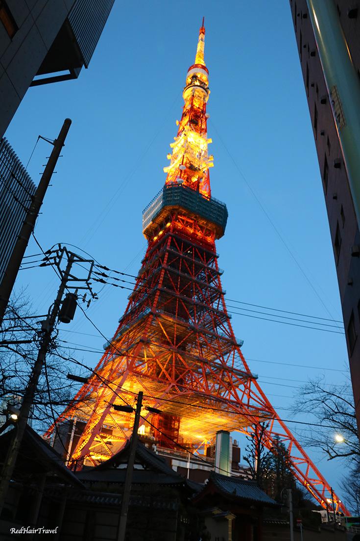 токио-башня, Япония