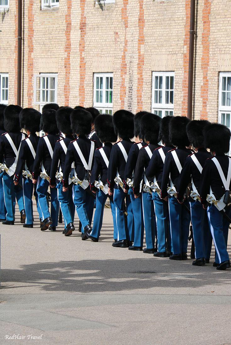 Королевская гвардия, Копенгаген