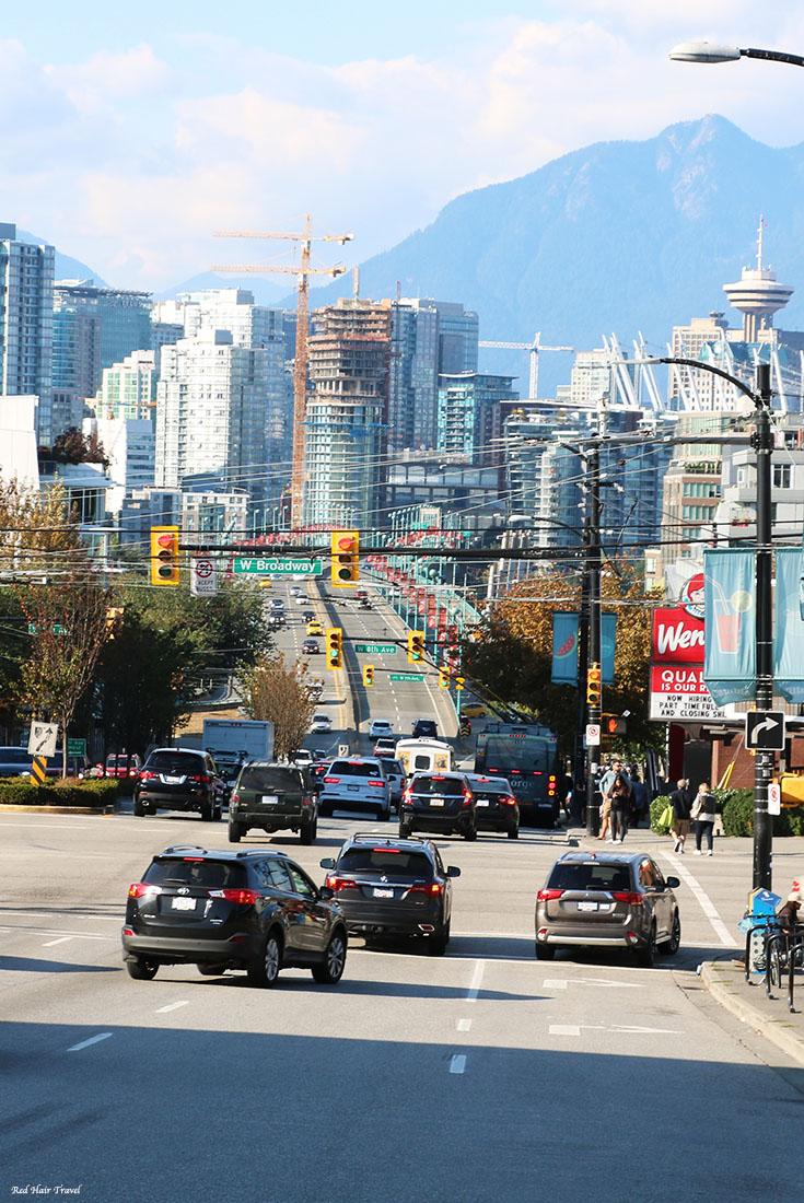 вид на Даунтаун, Ванкувер