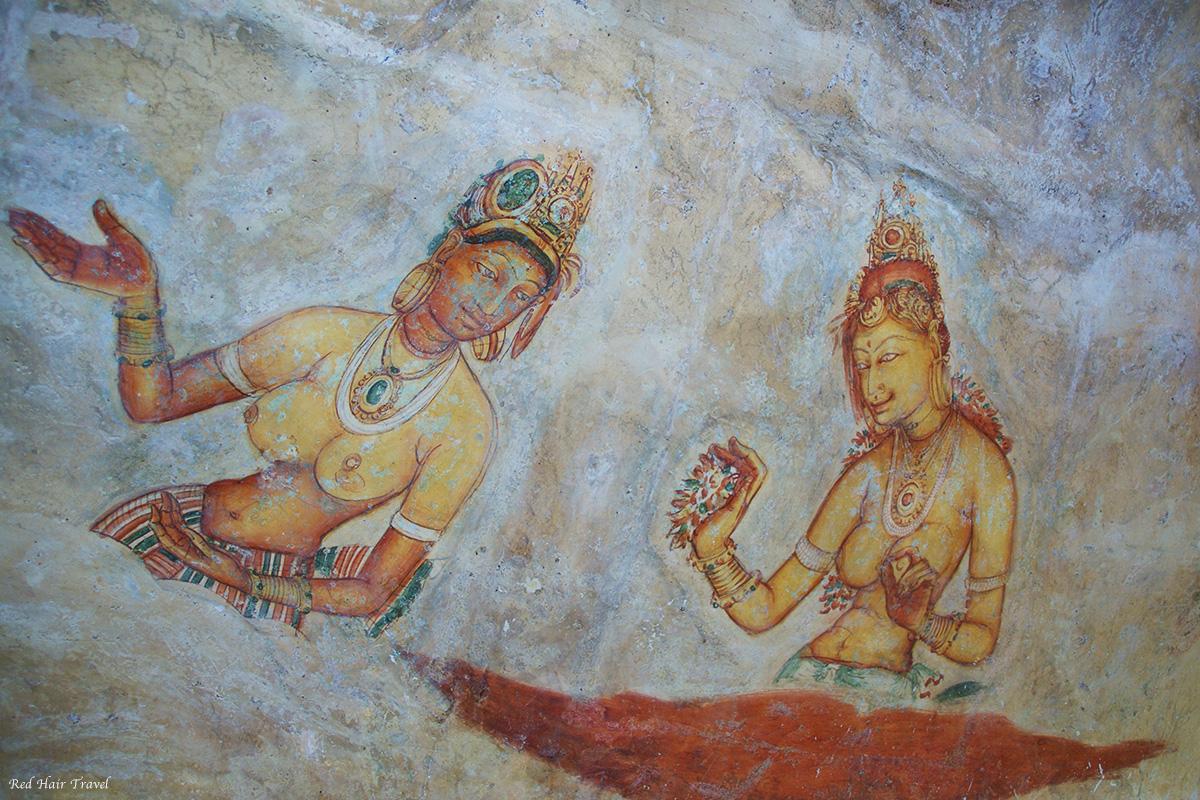 фрески Сигирия