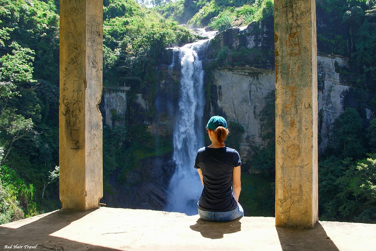 водопад, Нувара Элия
