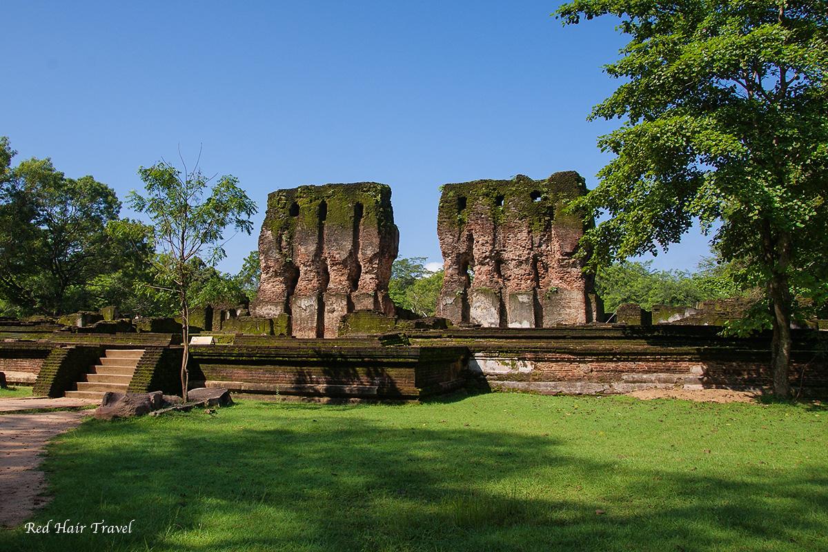 Королевский дворец Полоннарува, Шри Ланка