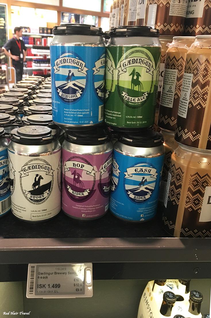 алкоголь в Исландии