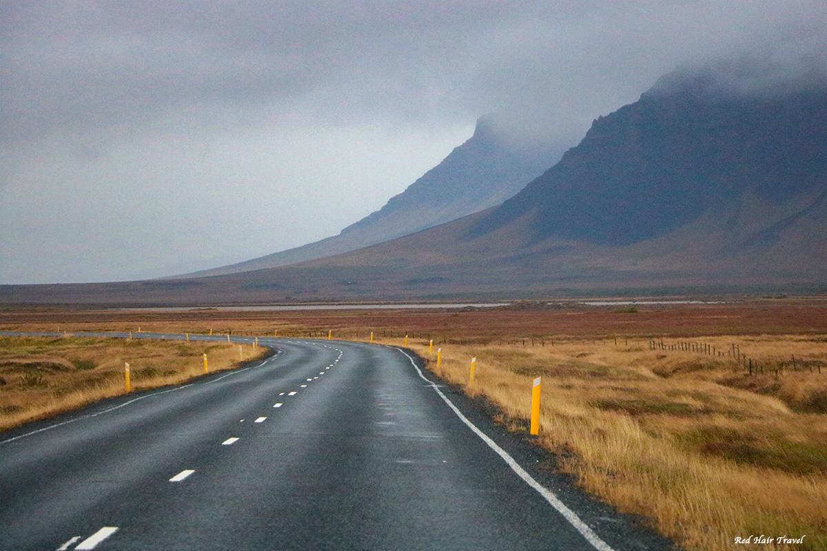 дороги в Исландии
