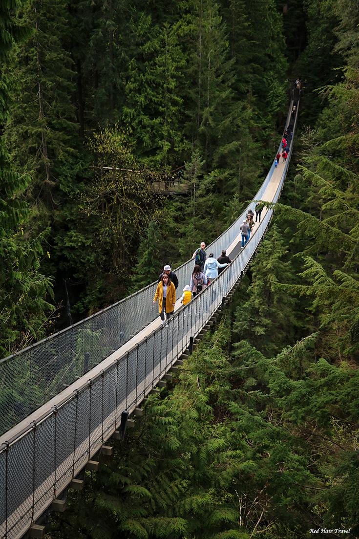 Мост Капилано, Ванкувер