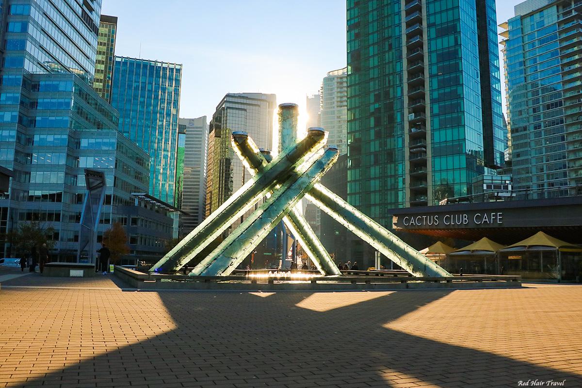 Olympic Cauldron @ Jack Poole Plaza, Vancouver