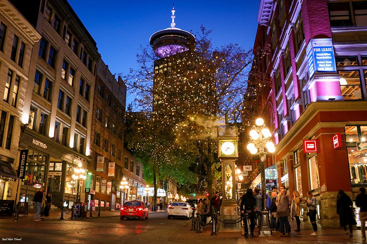 Гастаун вечером, Ванкувер