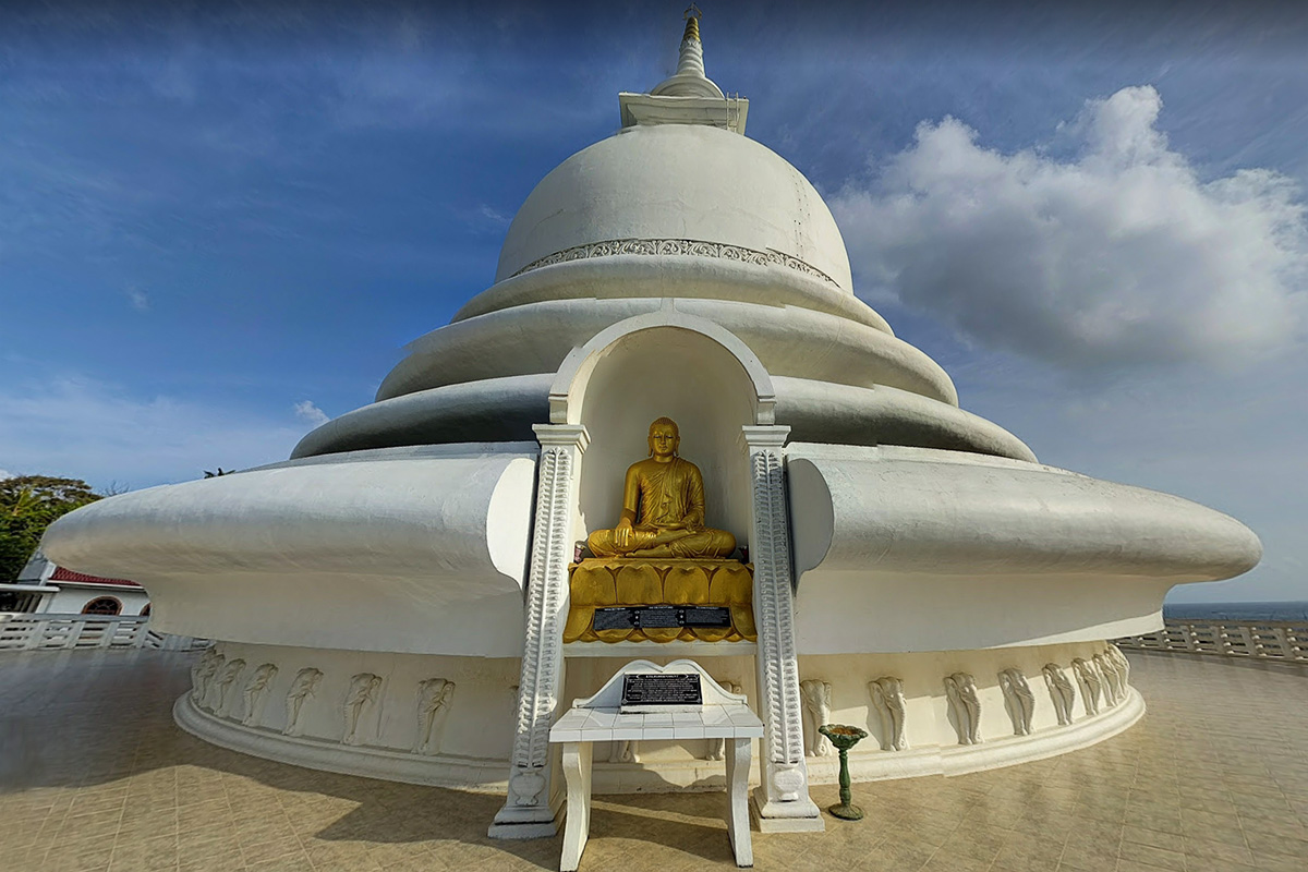 Японская пагода, Шри Ланка