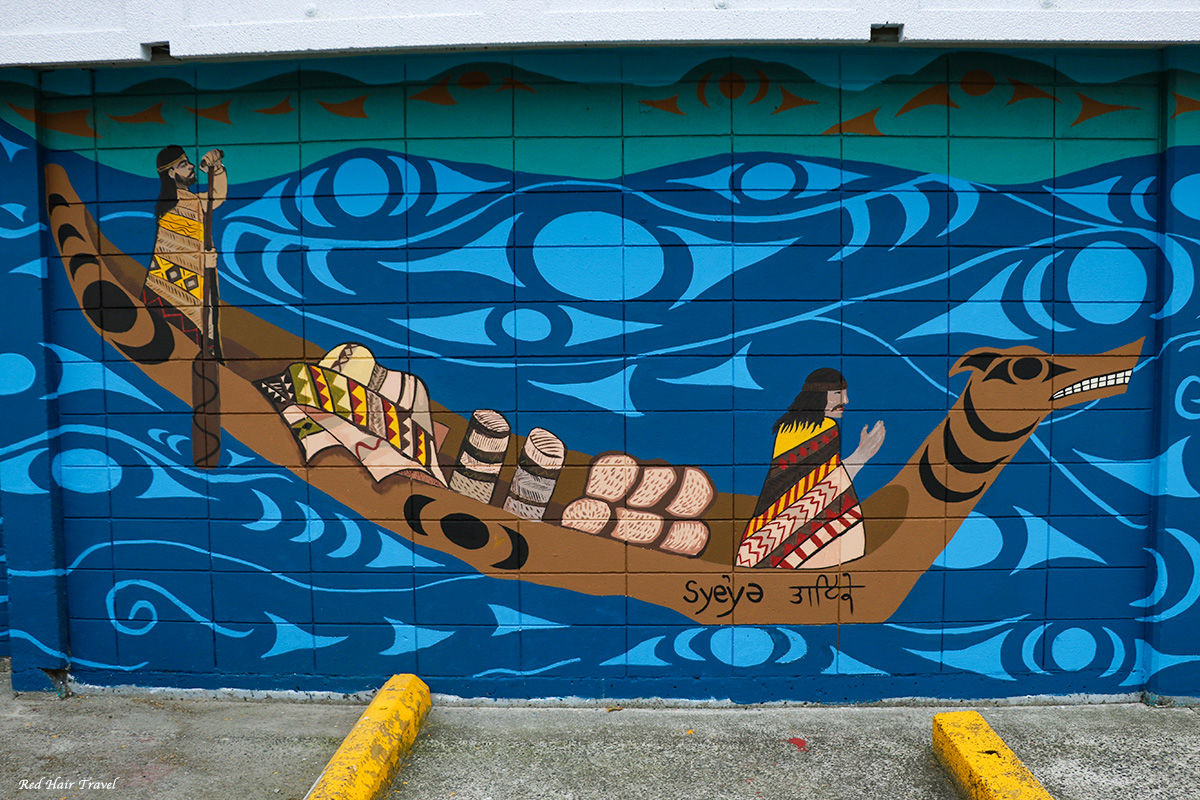 Муралы, Ванкувер, искусство