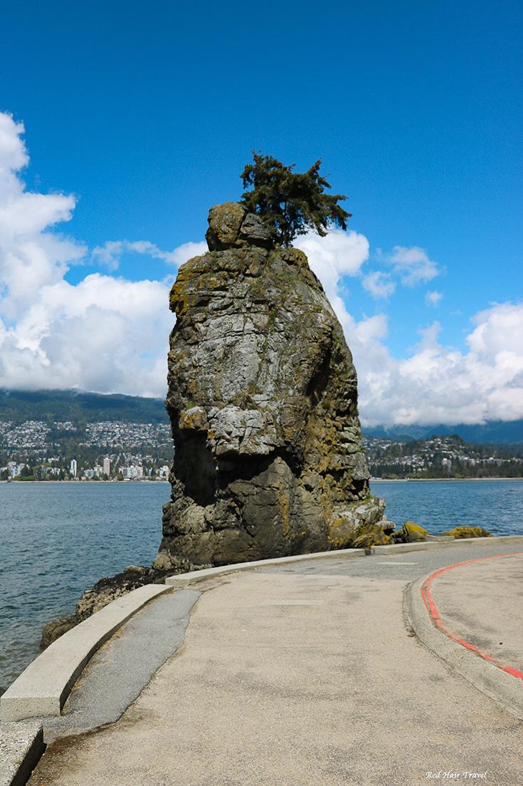 утес в Стенли Парке, Ванкувер