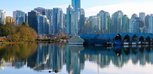 Ванкувер, Стенли Парк, вид на Даунтаун