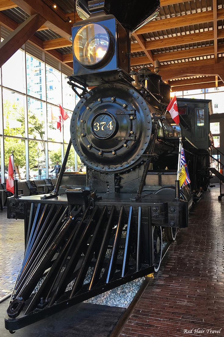Йелтаун Ванкувер, локомотив