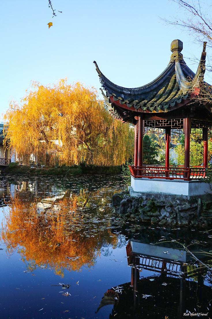 Китайский сад, Ванкувер