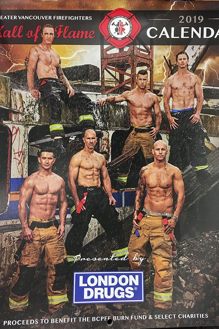 Календарь пожарников, Ванкувер