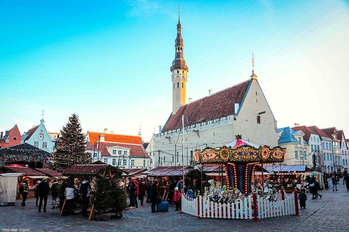 Рождественская ярмарка, Ратушная площадь