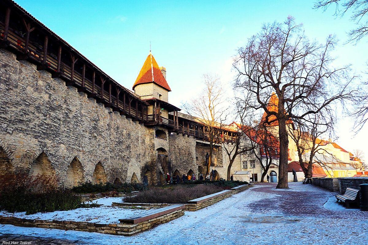 Девичья Башня, Вышгород, Таллин