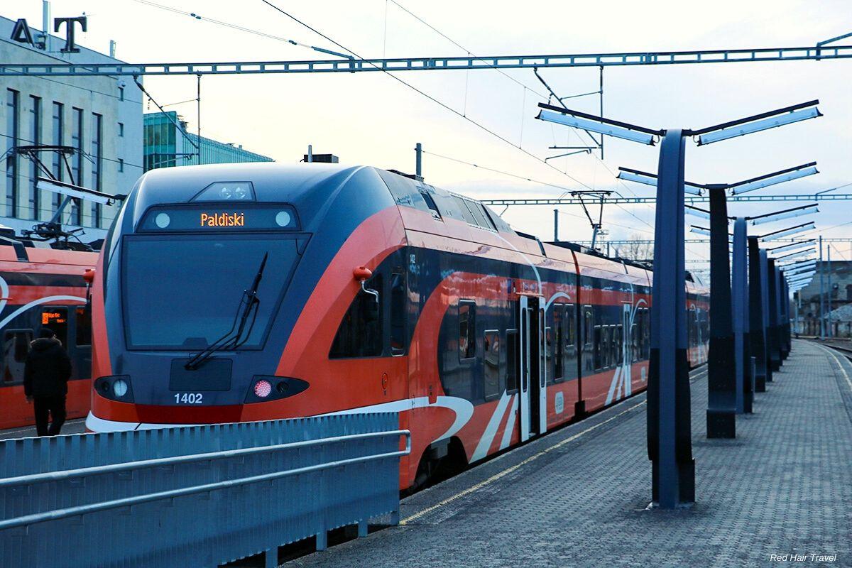 как добраться в Таллин на поезде