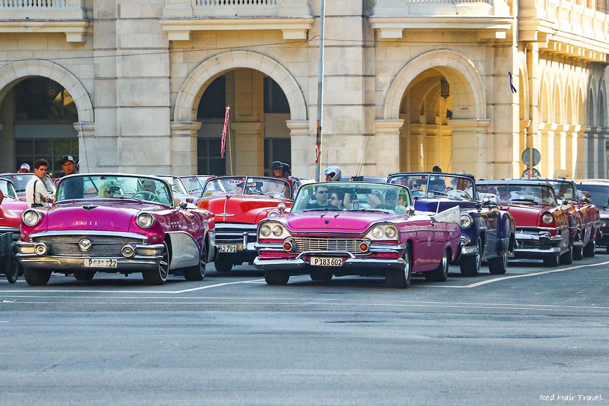 ретро-машины на Кубе