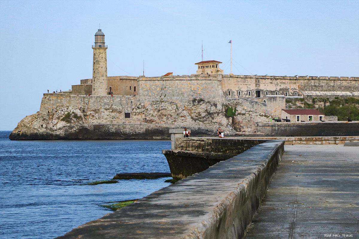замок del Morro, вид, Гавана