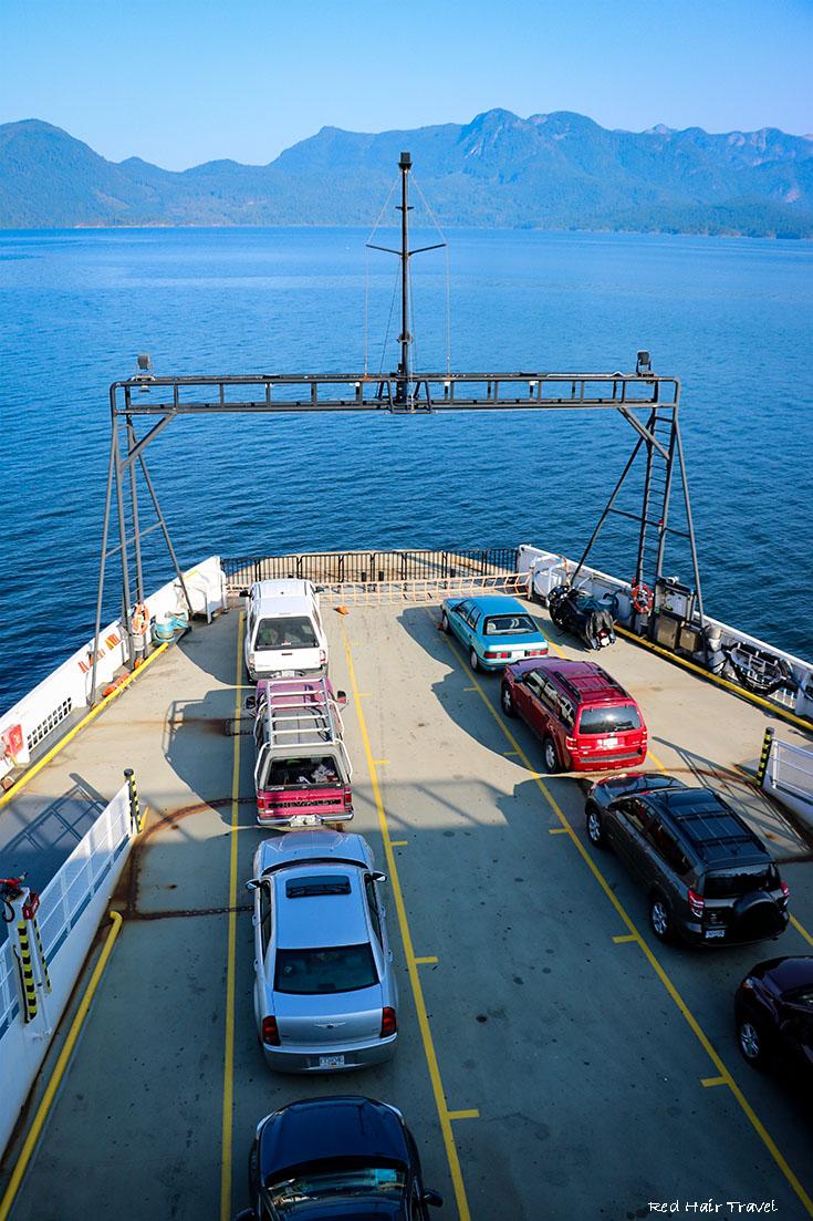 Паром до Long Bay