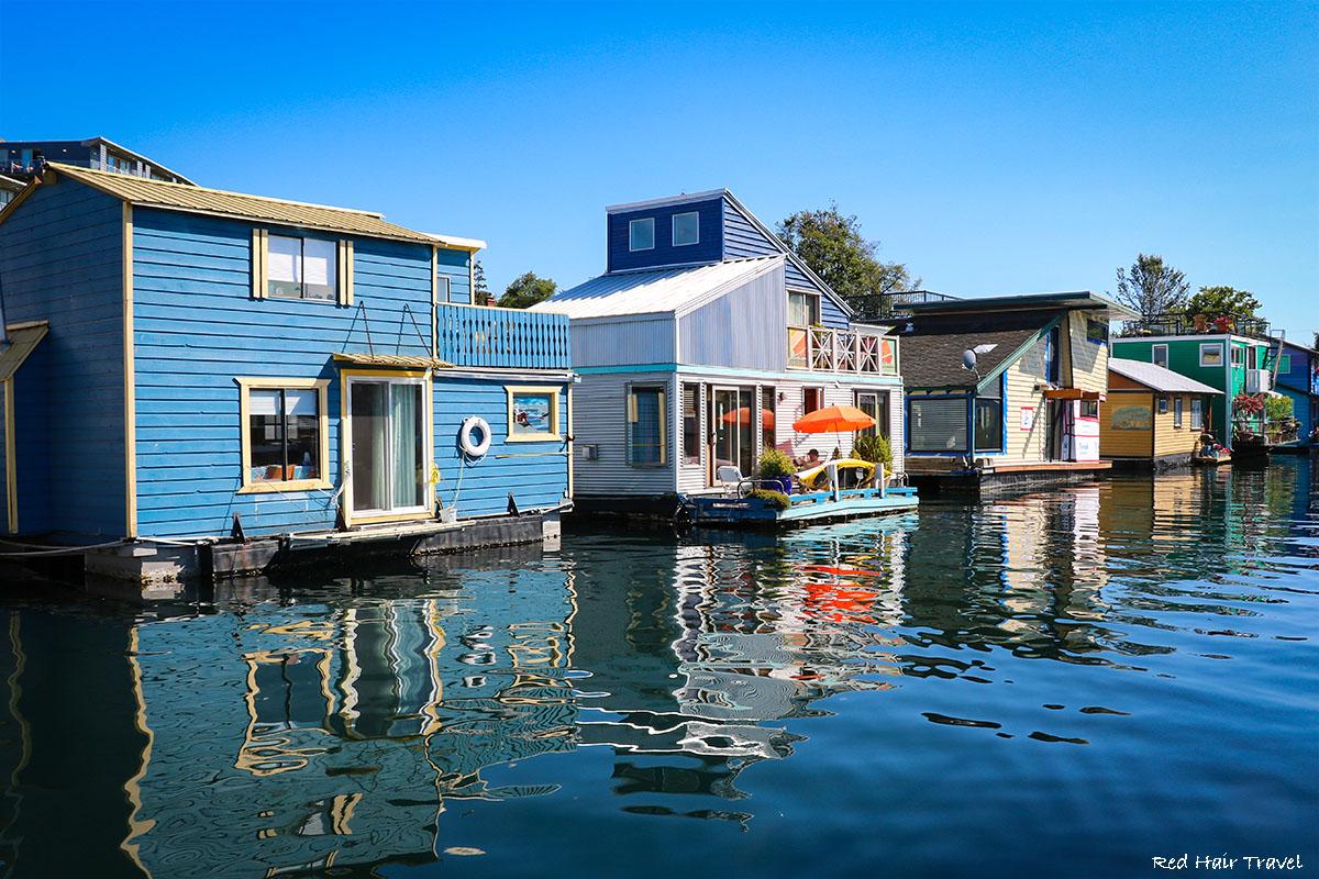 Рыбацкая Пристань - Fisherman's Wharf , Виктория
