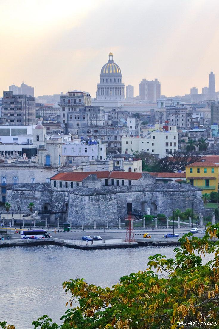Parque del Cristo de La Habana, view