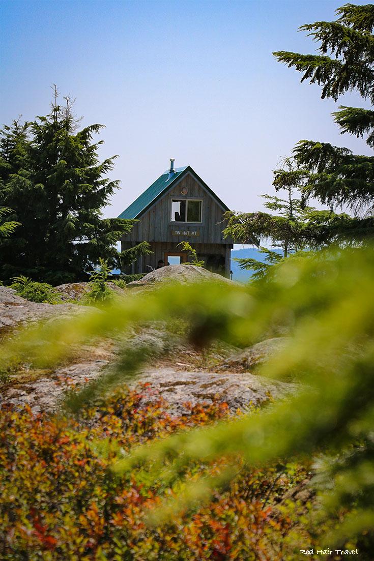 sunshine coast trail hiking view, саншайн кост
