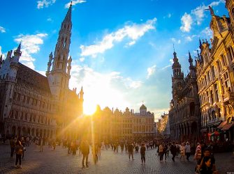 Брюссель за один день