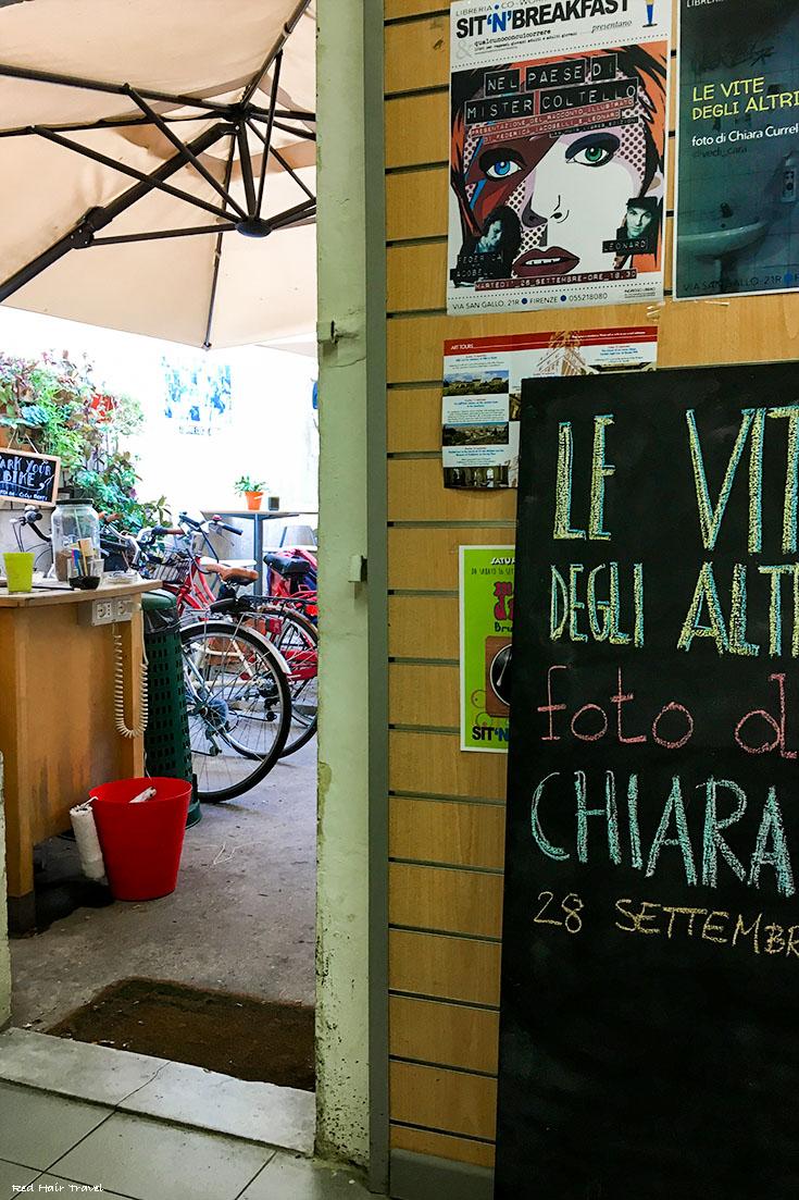 кафе-коворкинг во Флоренции