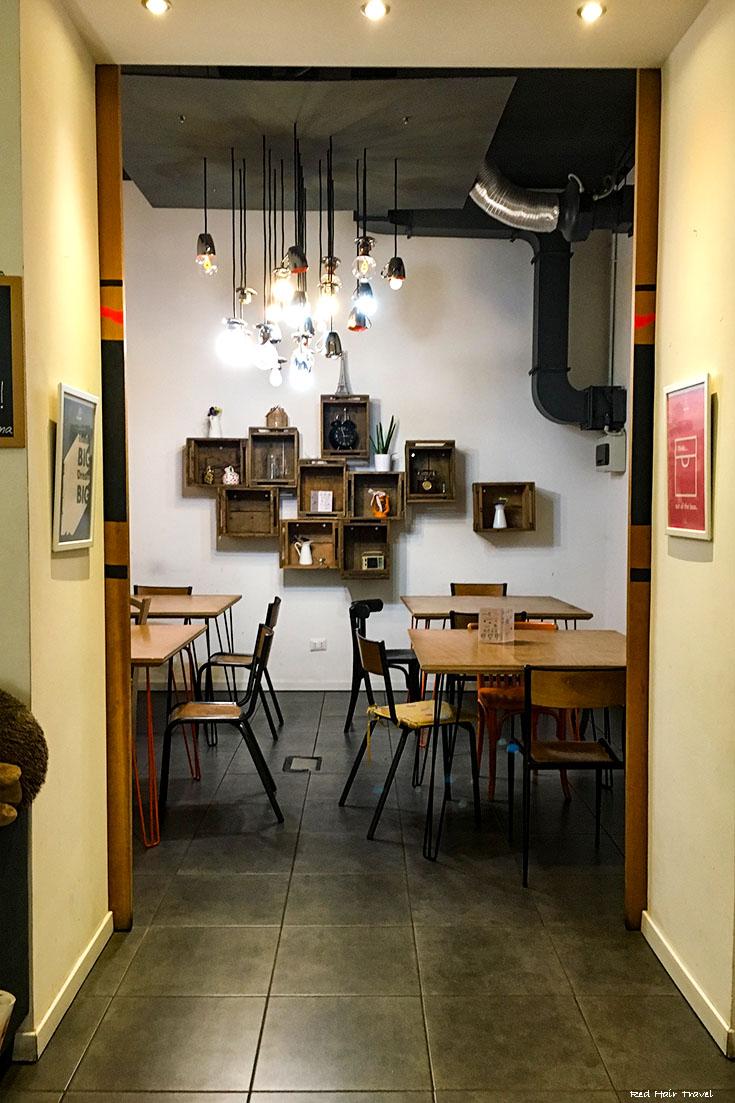 кафе-коворкинг в Риме