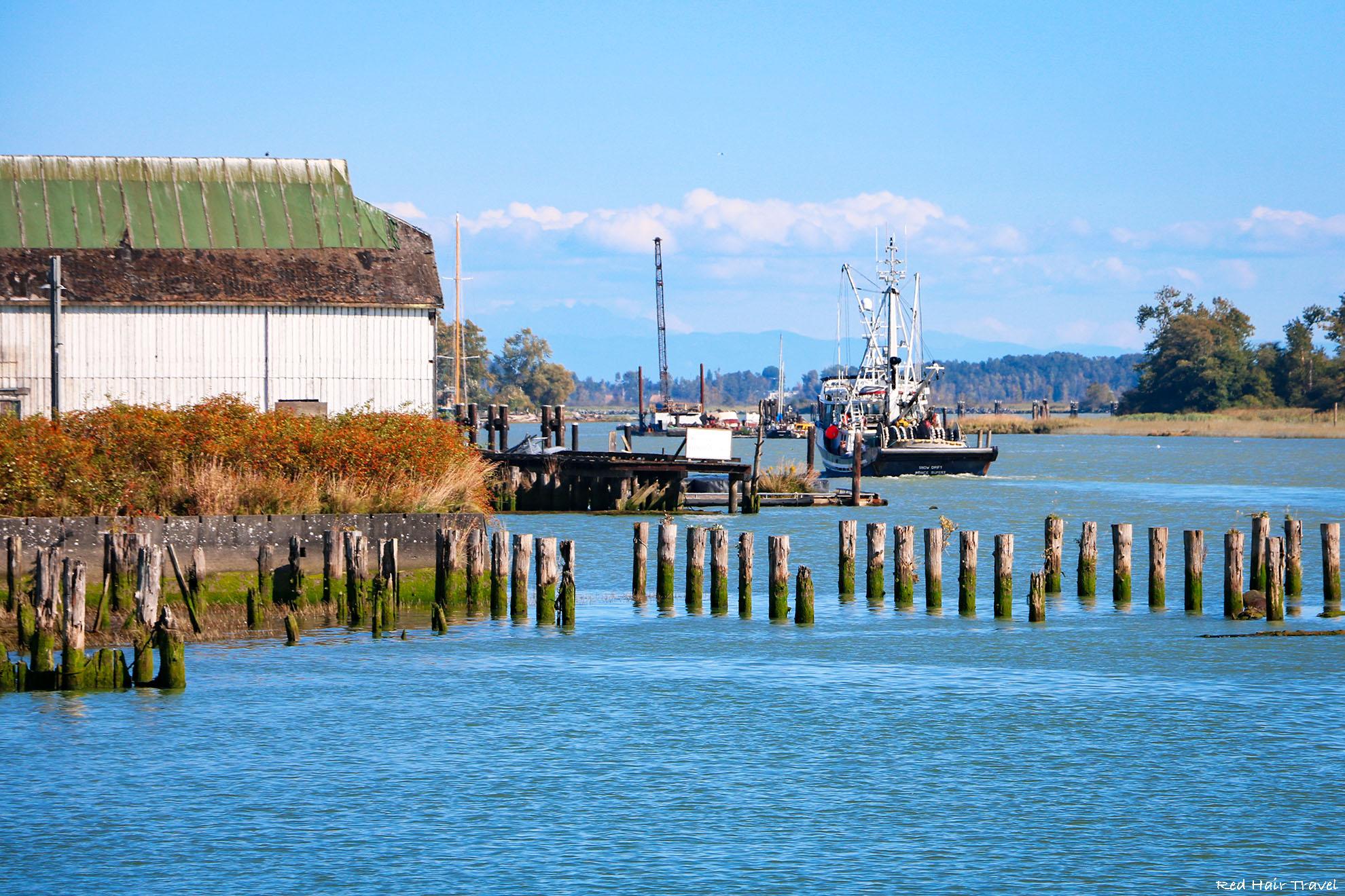 Музей-деревня Britannia Shipyards