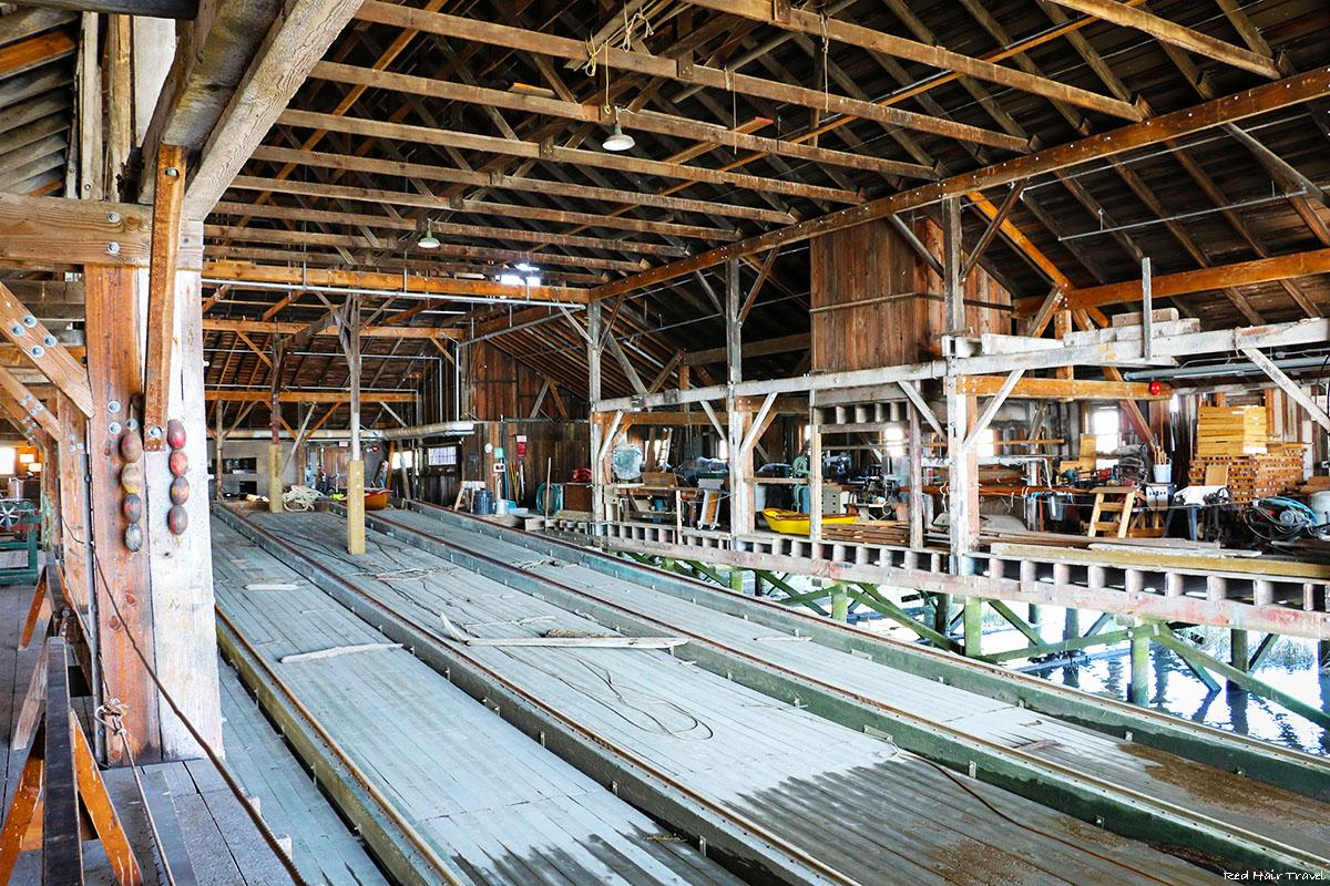 Britannia Shipyard building